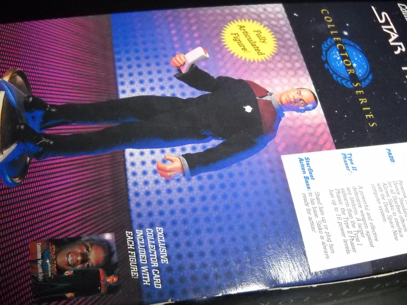 Star Trek Collector Series Command Edition Commander Benjamin Sisko 1994 Sealed
