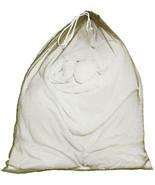 Olive Drab Lightweight Nylon Mesh Utility Laundry Drawstring Bag - $9.99