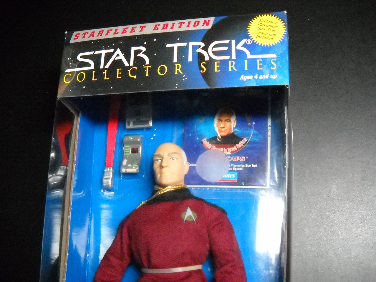 Star Trek Collector Series Starfleet Edition Picard in Dress Uniform 1995 Sealed