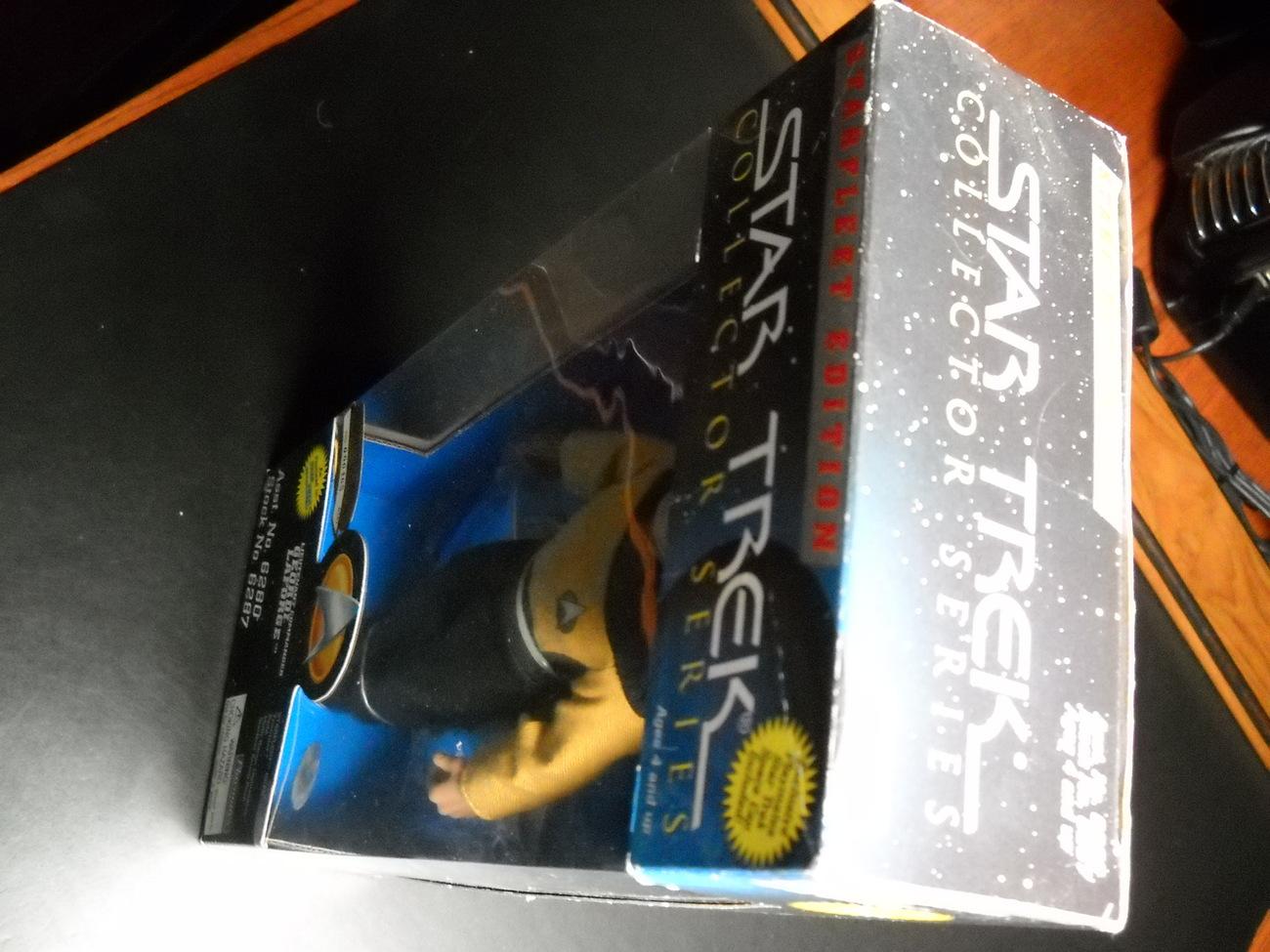 Star Trek Starfleet Edition Lt Geordi LaForge 1995 Playmates Still Sealed in Box