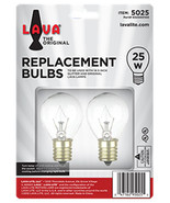 """2 Pack Lava Lamp 25 Watt Replacement Bulbs for 14.5""""/20oz lamp - $8.50"""