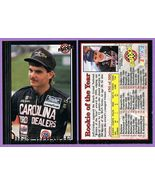 Jeff Gordon 1992 MAXX BGN Rookie NASCAR Racing Card #50 ~ Rookie of the ... - $3.00