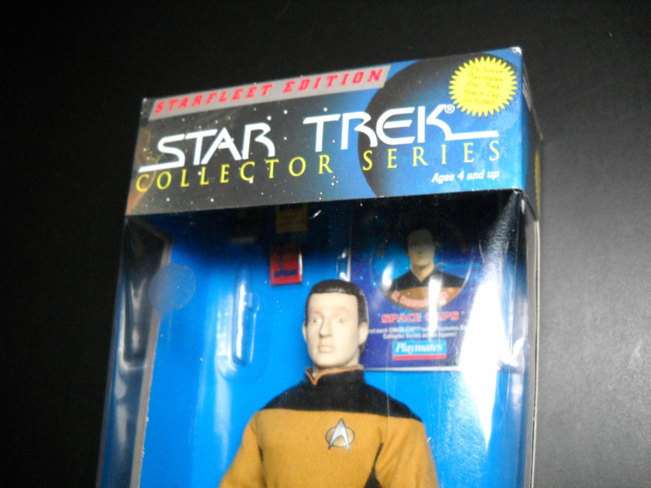 Star Trek Collectors Series Starfleet Edition Lt Commander Data 1995 Sealed Box