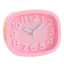 George Jimmy Cute Student Alarm Clock Stylish Silent Bedside Alarm Clock #13 - $26.93