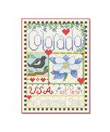 Colorado Little State Sampler cross stitch chart Alma Lynne Originals - $6.50