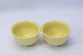 "Tabletops Unlimited Corsica Fruit Dessert Bowls Light Yellow 4.5"" Lot of 2 - $29.39"