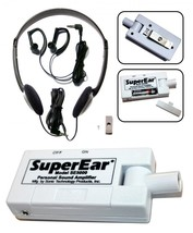 SONIC SUPER EAR LISTENING AMPLIFIER MICROPHONE DEVICE - $79.00