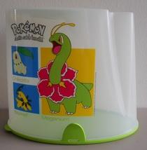 Retired pokemon tupperware cereal keeper pantry meganium bayleef chikorita thumb200