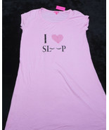 BETSEY JOHNSON Womens SLEEPWEAR SLEEP SHIRT Size Medium M NWT NEW - $38.06