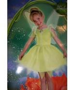 Tinker Bell Fairies Costume 3-4T + Treat Pail NEW - $25.00