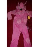Backyardigans Uniqua Toddler Costume 3-4T + Treat Pail - $25.00