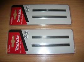 4 Makita Reversible TCT Planer Blades D-07945 82mm Twin Pack Bosch DeWalt - $10.66