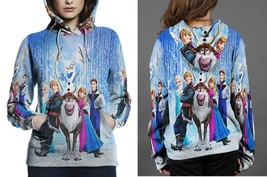 Frozen The Movie Hoodie Fullprint Women - $41.99+