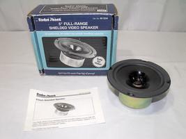 """Radio Shack 5"""" Full-Range  Speaker 40-1234 - $18.00"""