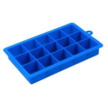 (blue size S) DIY Big ice lattice Mold Square Shape Silicone Ice Tray Fr... - $16.00