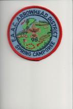 1998 Eastern Arkansas Area Council Arrowhead District Spring Camporee patch - $5.35