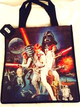 "Cool RETRO STAR WARS Reusable Shopper Tote Bag—Size: 13"" x 11"" NEW! - $6.25"