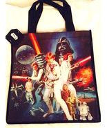 "Cool RETRO STAR WARS Reusable Shopper Tote Bag—Size: 13"" x 11"" NEW! - $6.25"