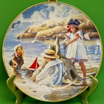 1992 Hamilton Collection Collector Plate, Children's Day By The Sea, Don... - $3.95
