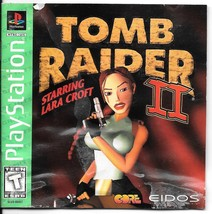 Tomb Raider II Starring Lara Croft (Sony PlayStation 1, 1997) - $4.75