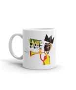 Jean-Michel Basquiat Trumpet 1984 Artwork Mug - $9.86+