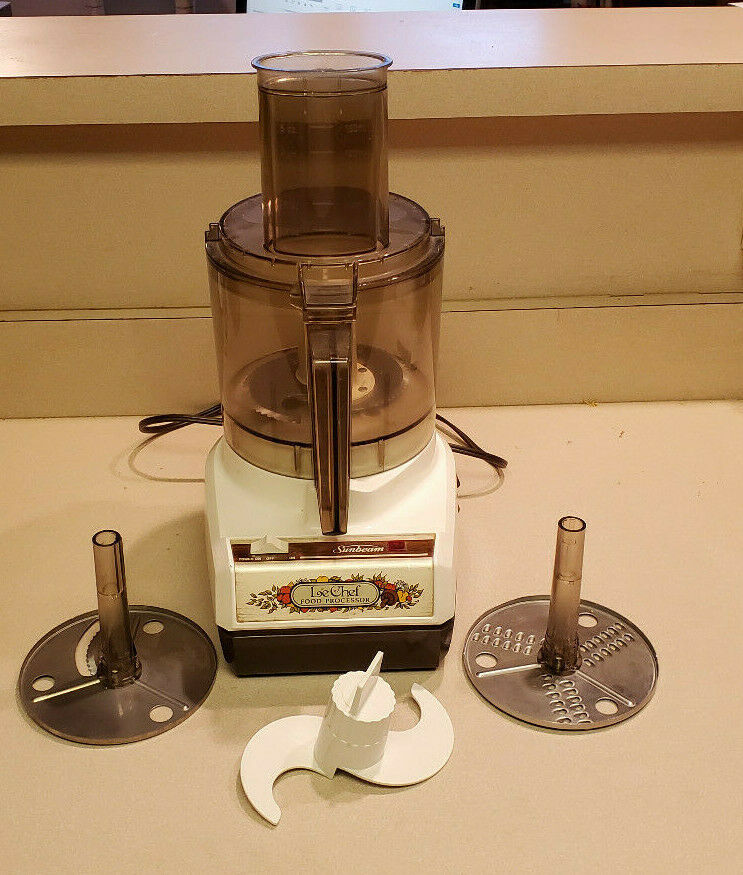 Primary image for Vintage Sunbeam Le Chef Mixmaster 7 Cup Food Processor 14-11 USA