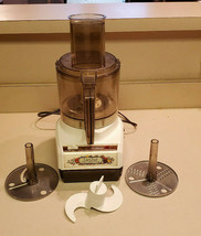Vintage Sunbeam Le Chef Mixmaster 7 Cup Food Processor 14-11 USA - $59.35