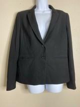 Ann Taylor Womens Size 10 Black Blazer Suit Jacket Pockets  - $14.15