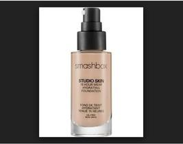 Smashbox Studio Skin 15hr Wear Hydrating Foundation Oil-Free 1.15 +Primer Sample - $41.58