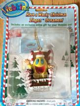 "Webkinz Figurine - Holiday Ornament ""Have a Wacky Christmas Zingoz Ornam... - $13.03"