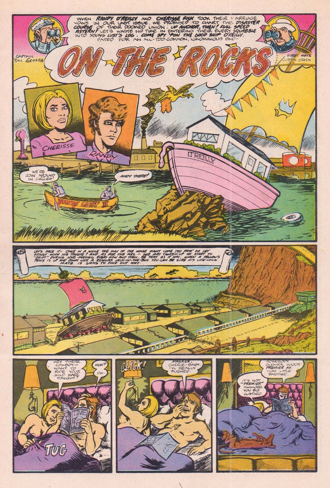 Young Lust 3, Last Gasp, 1st print 1972  Full Color Classic Underground Comix -