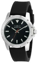 Invicta Men's Quartz Watch 40mm Stainless Steel Case Charcoal Dial Model... - $64.95