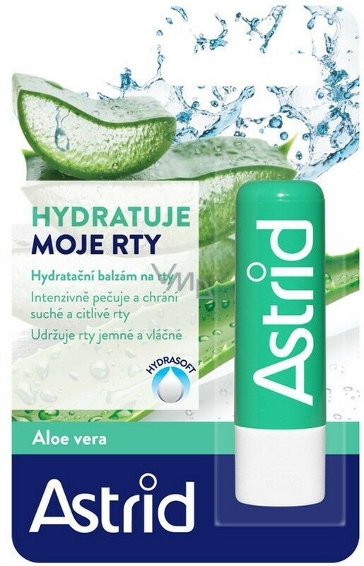 Primary image for ASTRID lip balm/ chapstick: ALOE VERA -1 pack - FREE SHIPPING