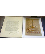 United States France The First Alliance Print Portfolio Artwork Bicenten... - $12.00