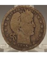 1915-S Barber Silver Quarter G #0350 - $23.99