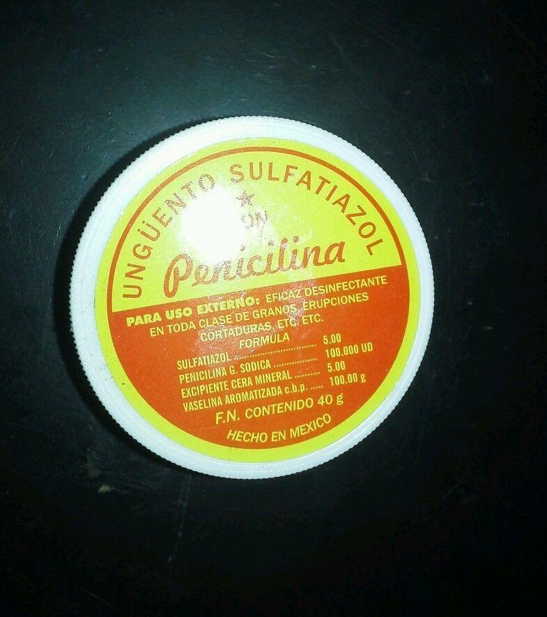 Sulfatiazol Con Penicilina Pomada 40g and 50 similar items