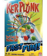 Ker Plunk Game Don't Let The Marbles Fall Mattel Fast Fun Game kerplunk ... - $13.99