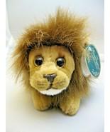 """Bearington Collection Lil Prince Small Lion Plush Stuffed Animal NWT 9"""" ... - $12.86"""