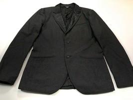 Armani Exchange Men's 38R Dark Gray Blazer Suit Jacket Cotton Blend 38... - $49.99