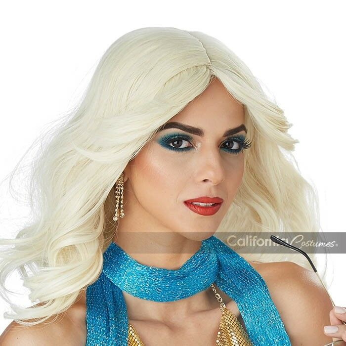 California Costumes Disco Nights Blonde Wig Halloween Costume Accessory 70930