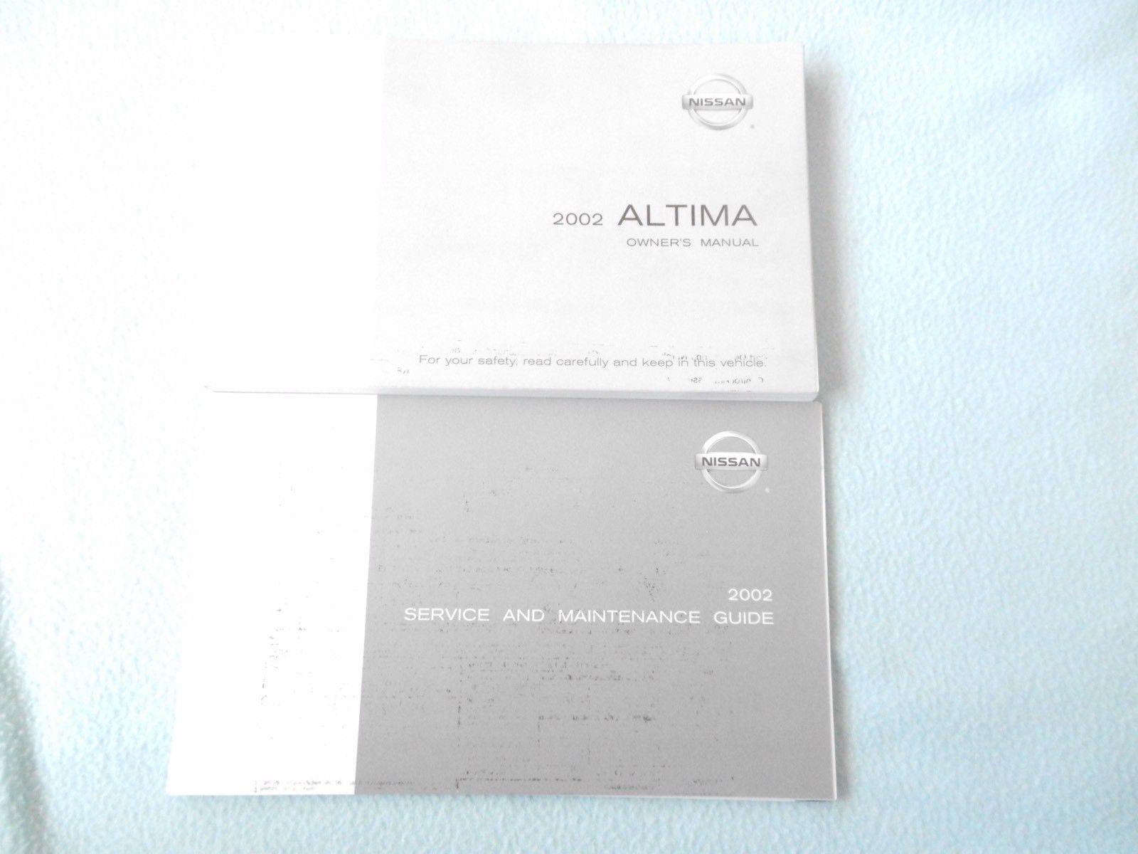 2002 nissan altima owners manual with binder and 50 similar items rh bonanzamarket co uk Nissan Altima Manual PDF 2005 Nissan Altima Manual Book