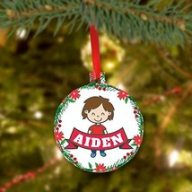 Personalized Christmas Ornament for Boys - $9.99