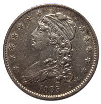 1835 Capped Bust Quarter Dollar 25¢ Coin Lot# MZ 3097