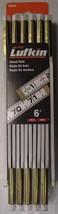 Lufkin T066N 6' x 5/8 Folding Wood Rule Red End - $8.66