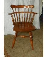 Maple Ethan Allen Swivel Desk Chair, Dinette Ch... - $299.00