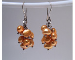 Earrings sterling cultured rice pearls gold thumb155 crop