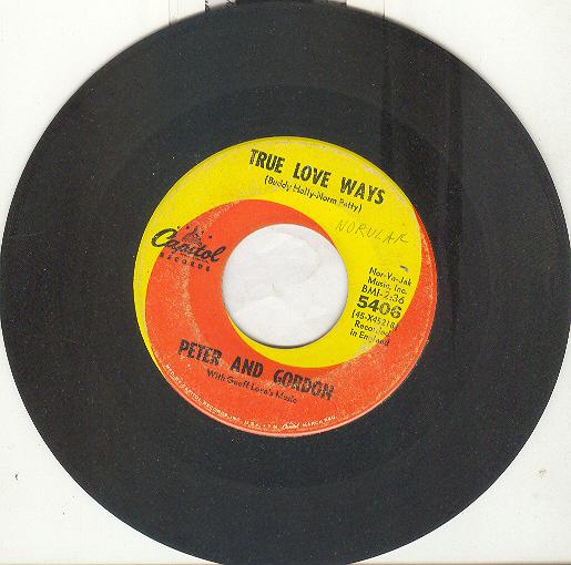 Peter   gordon true love ways