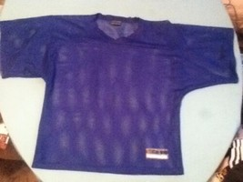 Force football jersey shirt Boys youth Size large blue practice mesh  at... - $10.29