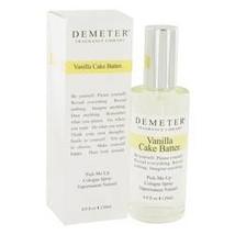 Demeter Vanilla Cake Batter Perfume By Demeter 4 oz Cologne Spray For Women - $31.51