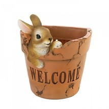 Welcoming Bunny Planter - $13.69